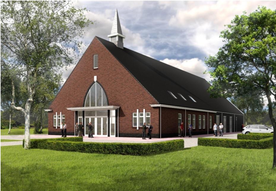 Ingebruikname nieuw kerkgebouw Berkenwoude