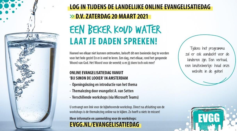 Online evangelisatiedag vanuit Amsterdam