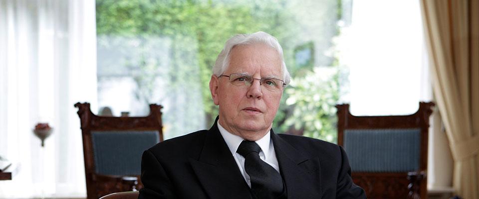 Jubileum ds. M.J. van Gelder